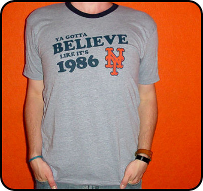 Son Heir You Gotta Believe Like It's 1986 Shirt